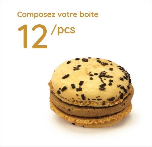Espace sucré - Boîte 12 Macarons