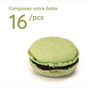 Espace sucré - Boîte 16 Macarons