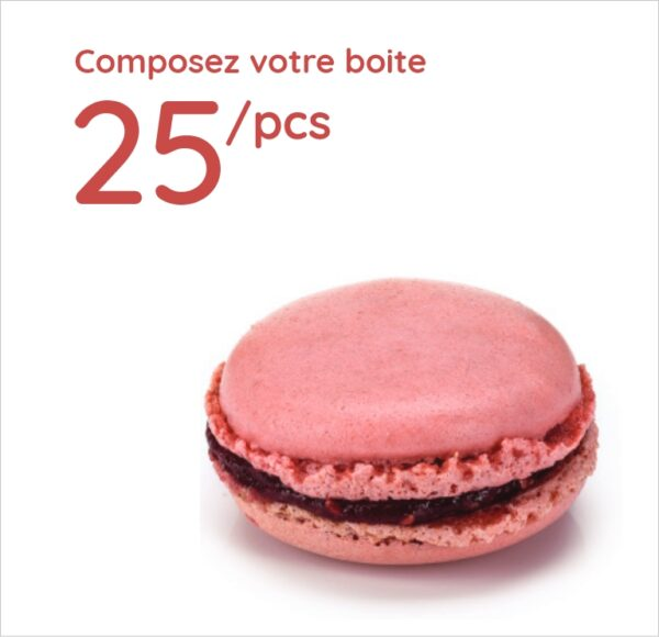 Espace sucré - Boîte 25 Macarons