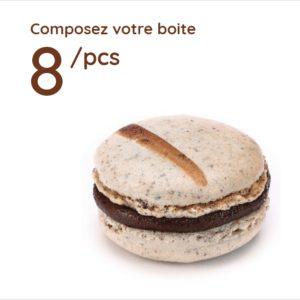 Espace sucré - Boîte 8 Macarons
