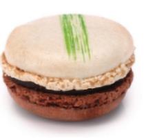 Espace sucré - Macaron Menthe Choco